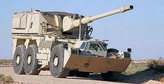 wheeled self-propelled howitzer technical data sheet specifications information description intelligence pictures photos images identification Germany German Rheinmetall defense industry military technology Army Vehicles, Armored Vehicles, Luftwaffe, Offroad, Self Propelled Artillery, Tank Armor, Military Armor, Armored Fighting Vehicle, Fire Powers