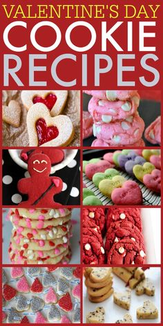Looking for a perfect cookie recipe for Valentine's Day? Check out these awesome ones including a super cute cupid cookie.