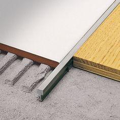 Aluminum edge trim / for tiles LINETEC AD PROFILITEC
