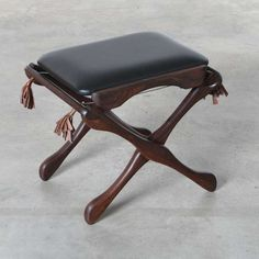 """Don Shoemaker  - """"Sling Suspension"""" Footstool, Mexico, 1960s"""