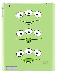 Toy Story Space Aliens IPad Cover By Outtatimedesign