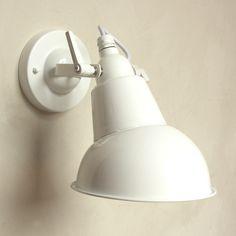 Industrial White Hood Light