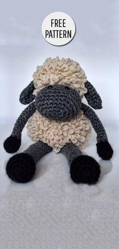 Mesmerizing Crochet an Amigurumi Rabbit Ideas. Lovely Crochet an Amigurumi Rabbit Ideas. Crochet Sheep Free Pattern, Crochet Patterns Amigurumi, Crochet Dolls, Cat Amigurumi, Crocheted Toys, Crotchet Patterns, Amigurumi Tutorial, Cute Crochet, Crochet For Kids