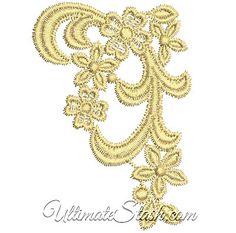 Machine Embroidery Design FSL