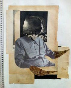 """Saatchi Art Artist Franz Falckenhaus; Collage, """"Maulwurf """" #art"""