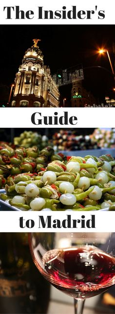 One of our favorite things to do here at Madrid Food Tour is trade secrets about Madrid's hidden gems. As a team we have collected so many secrets that it would be wrong not to share a few, so here you have it; the Madrid Food Tour team's guide to our favorite food and drink in Madrid. http://madridfoodtour.com/insiders-guide-to-madrid/
