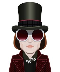 Willy Wonka (Johnny Depp) in Tim Burton's Charlie and the Chocolate Factory (2005)  #johnnydepp # - capitoni_