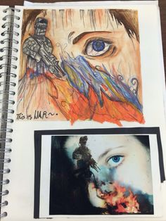 Painting and photo manipulation