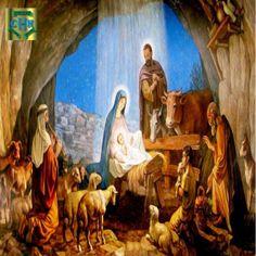 Nascimento de Jesus Cristo em Belém.