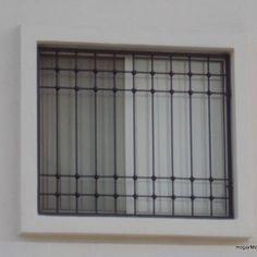 imagen de modelo de verjas de hierro forjado con estilo contemporáneo
