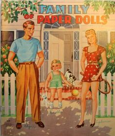 Family of Paper Dolls from Gallery.ru