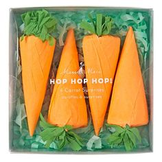 Easter Surprise Carrots (Set of 4)  | The Land of Nod. I need to figure out how to make these!
