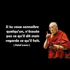 reflexion du daïla lama Plus Plus Citation Dalai Lama, Quote Citation, The Words, French Quotes, Positive Attitude, Happy Thoughts, Positive Affirmations, Sentences, Quotations