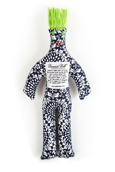 Le Lustre Dammit Doll. When you're not in the mood, Dammit Dolls changes your attitude!