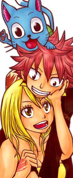 Natsu Happy Lucy Heartfillia