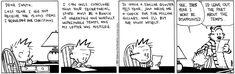 Calvin & Hobbes (nasty letter to Santa, no. 2)