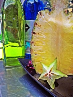 Ananas & Carambola - stand Fresh Makers Bar #dobrykoktajlniejestzły