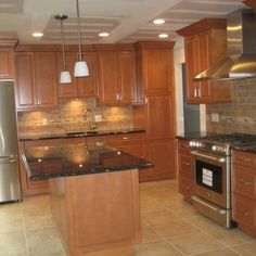 Updated Wood Kitchen   Traditional   Kitchen   Other Metro   Keystone  Kitchen Cabinets U0026 Cabinet