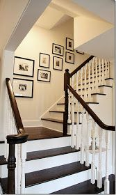 Modern Country Style: Going Upstairs...