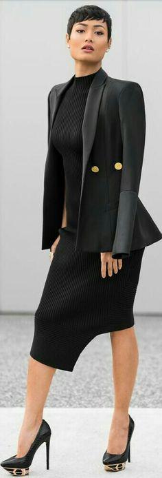 The Perfect LBD, Blazer + Heels / Fashion by Micah Gianneli
