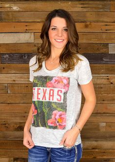 Show off your love for Texas in this Prickly, yet pretty tee shirt.