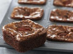 Brownies de chocolate- Anna Olson