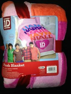 One Direction Twin Comforter Size Plush Blanket - $44.95<< OMG i have this and at walmart i bought it for 20 bucks