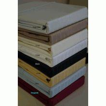 T600 King Size Pin-Stripe Egyptian Cotton Sheet Set