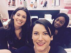 Salon Aiguille en fête 2015 terminé ! Toujours aussi ravies de vous rencontrer !  A très bientôt ! ;)