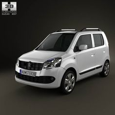 Suzuki Wagon R (Maruti) 2011 3d model from humster3d.com. Price: $75