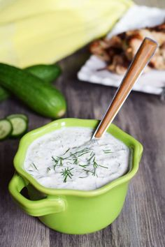 The Greeks knew what they were doing when they created the yogurt-based tzatziki sauce to accompany gyros and souvlaki. Without it, you've just got grilled meat. With it, you have something divine! Now I even have a recipe for a dairy-free version that happens to also be compliant with the paleo autoimmune protocol (AIP) and I'm so …