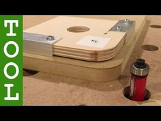 Frässchablone für runde Ecken | Ernst's Heimwerker-Blog