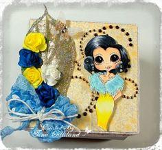 Copic box using a Sherri Baldy - My Besties stamp.  Made by Tina