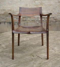 Sauer & Steiner: Dining chair - one down... 5 to go.