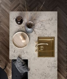 New Nordic Shaker Kitchen Unoform, elsker utforming på denne kjøkkenøya Interior Desing, Interior Design Kitchen, Bathroom Interior, Interior Inspiration, Interior Architecture, Kitchen Decor, Interior Decorating, Hotel Kitchen, Diy Kitchen