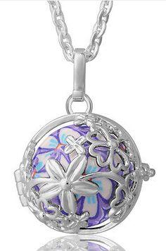 68 best eudora harmony ball necklace images on pinterest ball eudora sterling silver harmony ball chime necklace isnt it beautiful aloadofball Images