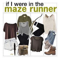 if I were in the maze runner Girls Fashion Clothes, Teen Fashion Outfits, Cool Outfits, Zombie Apocalypse Outfit, Runners Outfit, Dystopian Fashion, Movie Inspired Outfits, Fandom Outfits, Character Outfits