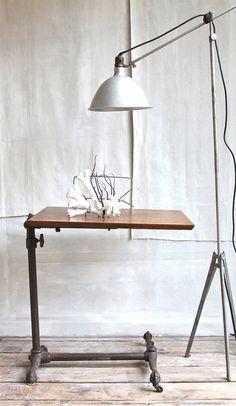 Antique Drafting Table W/Lamp | Darryl Carter | Pinterest | Antique Drafting  Table, Elle Decor And House Beautiful