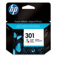 Cartucho de tinta original HP 301 color