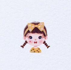 Kawaii Drawings, Cute Drawings, Cute Cartoon Images, Baby Clip Art, Cartoon Stickers, Nature Crafts, Beauty Art, Chibi, Anime Art