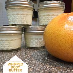 DIY Beauty  Grapefuit Whipped Body Butter   Kimberly Kalil Designs