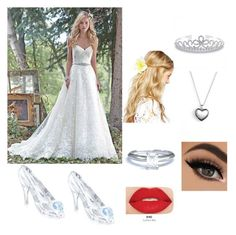 """Wedding day"" by laylarcoyne ❤ liked on Polyvore featuring Swarovski, ASOS, Tiffany & Co., Pandora, Smashbox and Bling Jewelry"