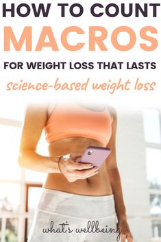 Want a flexible dieting approach for healthy weight loss? Check out our counting macros for beginners guide! We explain what macros are, ho. Weight Loss Diet Plan, Losing Weight Tips, Weight Loss For Women, Healthy Weight Loss, Weight Loss Tips, How To Lose Weight Fast, Fat Women, Paleo Diet Plan, Diet Plan Menu