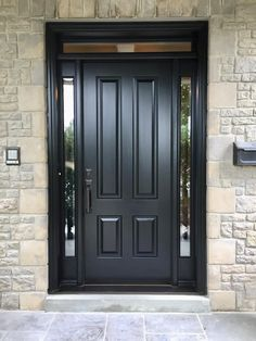 Here is a sampling of our hand made Side Light Entry Doors. More designs are available and we can also help create your own custom design. Exterior Front Doors, Craftsman Front Doors, Main Entrance Door Design, Wooden Main Door Design, Front Door, Single Entry Doors, Front Door Styles, Modern Entrance Door, Exterior Doors