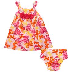 "Koala Baby Girls' 2 Piece Butterfly Sleeveless Dress and Diaper Cover Set - Babies R Us  - Babies""R""Us"