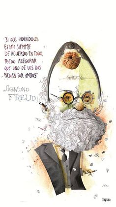 Pablo Bernasconi Sigmund Freud, Wise Quotes, Inspirational Quotes, Some Good Quotes, Cursed Child Book, More Than Words, Spanish Quotes, Meaningful Words, Wedding Humor