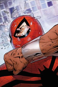 """MIGHTY AVENGERS #5.INH AL EWING (W) • GREG LAND (A/C) INHUMANITY TIE-IN! • It's the leadership challenge you've been waiting for! Luke vs The Superior Spider-Man - with She-Hulk arbitrating! As in """"arbitrating"""" a robot's head off! Extreme physical discourtesy the way you crave it, True Believer! • Meanwhile, there's something very rotten in the fallen city of Attilan - and it's shambling towards the Mighty Avengers! 32 PGS./Rated T+ …$3.99"""