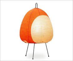 Akari Noguchi Model 1AT Table Lamp   designed by Isamu Noguchi   at The Modern Shop   House & Home