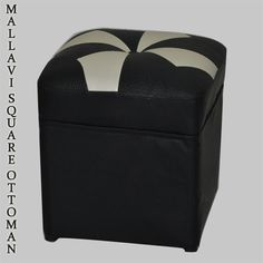 Elegant Mallavi Square Ottoman that will provide with a stylish look to your home.