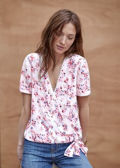 Blouse Strada // Collection Printemps Été ww.sezane.com #sezane #lookbook…